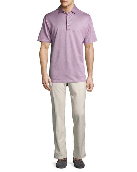 Crowne Yorktowne Birdseye Polo Shirt