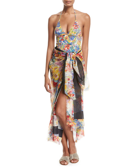 Iconic Printed One-Piece Swimsuit