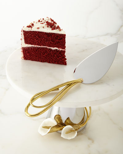 Calla Lily Cake Stand & Server