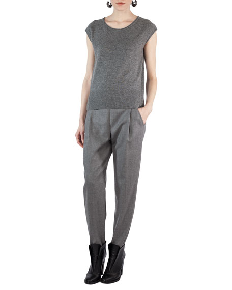 Fiola Wool Slouchy Pants