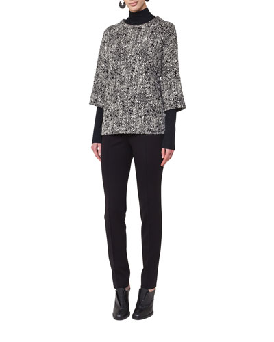 Stretch-Modal Turtleneck Sweater and Matching Items