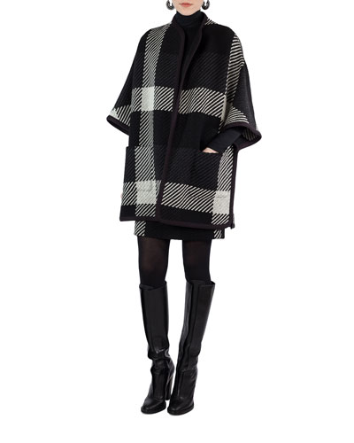 Glen Check Tweed Cape and Matching Items