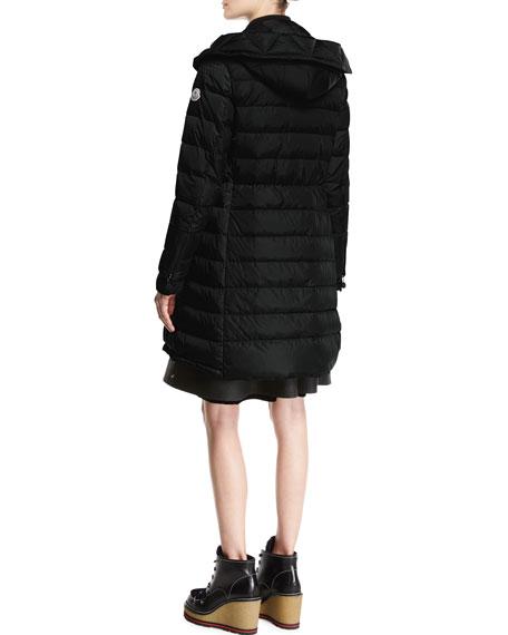 High-Waist Pleated Circle Skirt