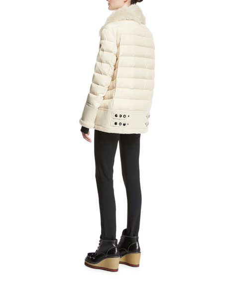 Montblanc Quilted Puffer Jacket, Ivory