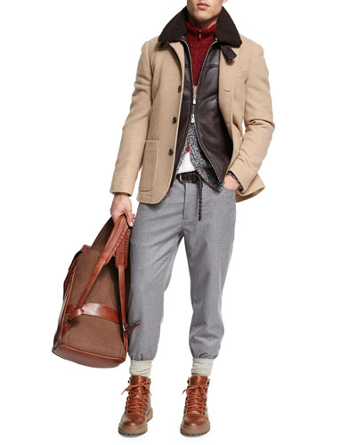 Lightweight Flannel Wool Pants and Matching Items