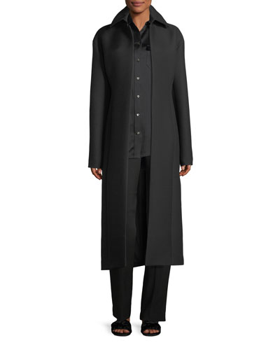 Lafrom Double-Face Wool Duster Coat and Matching Items