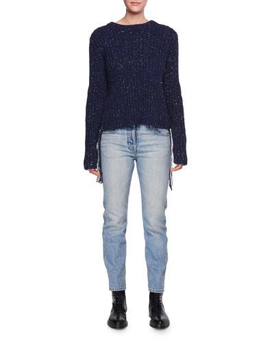 Ashland Slim-Leg Ankle Jeans, Indigo and Matching Items