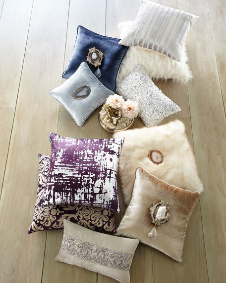 Gaia Sterling Pillow