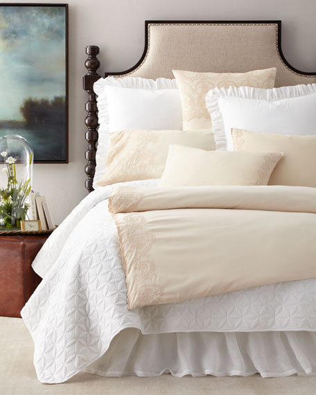 Queen 3-Piece Grace Duvet Cover Set