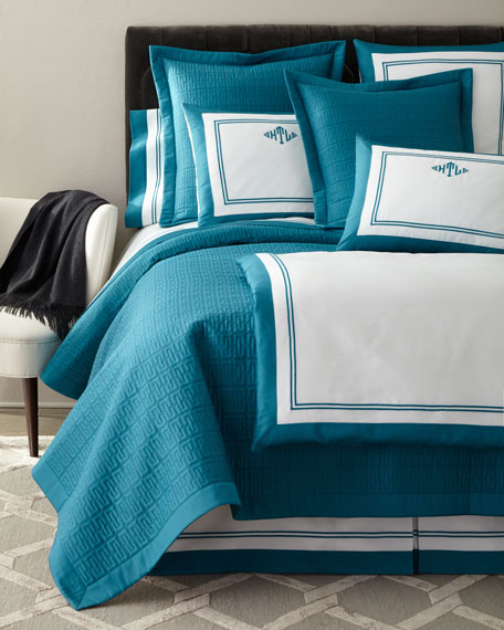 King Londres Quilted Coverlet