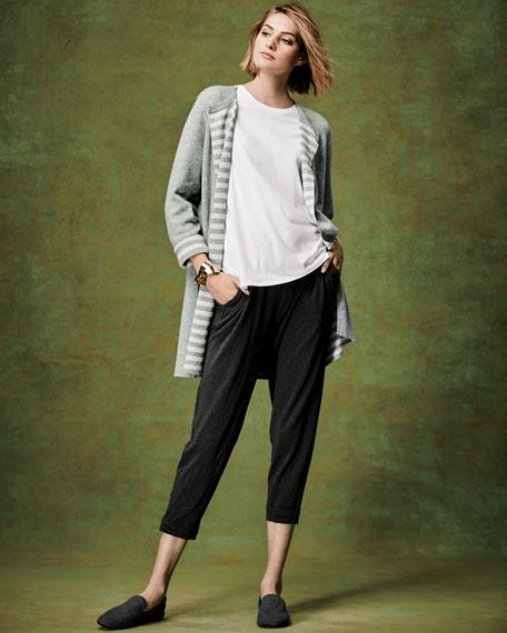 Organic Cotton Cashmere Reversible Cardigan