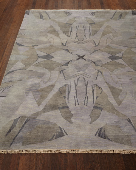 Luna Hand-Knotted Rug, 6' x 9'