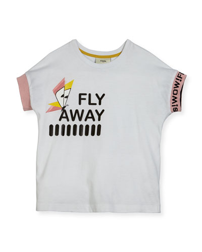 Girls' Short-Sleeve Fly Away T-Shirt, Size 3-5 and Matching Items