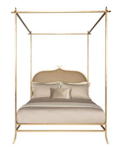 Ilsa Gold Poster Bed