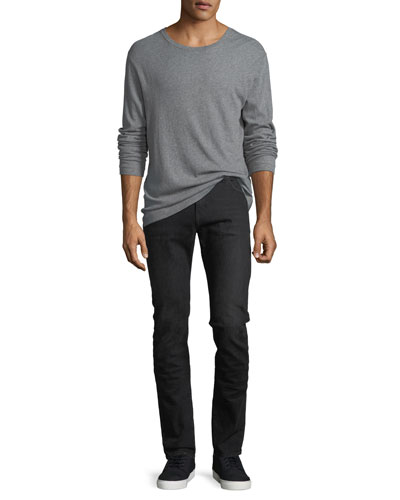 Cotton-Cashmere Long-Sleeve T-Shirt and Matching Items