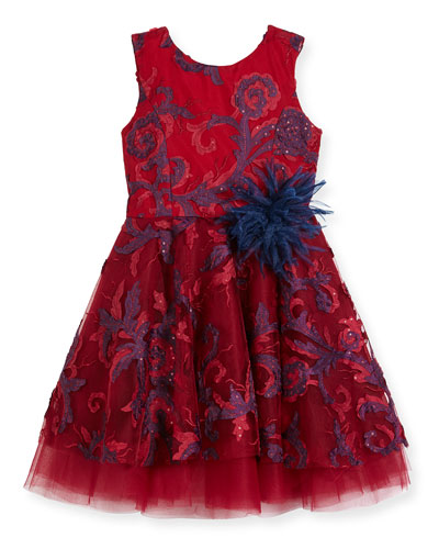 Ava Masquerade Ball Swirl Dress, Size 2-6X and Matching Items