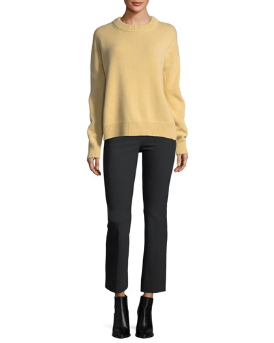 Boxy Crewneck Cashmere Sweater and Matching Items