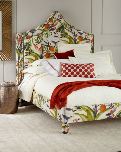 Bryony Floral Queen Bed and Matching Items
