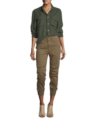 Slouchy Military Utility Pants and Matching Items