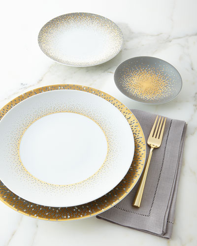 Souffle d'Or Dinner Plate and Matching Items