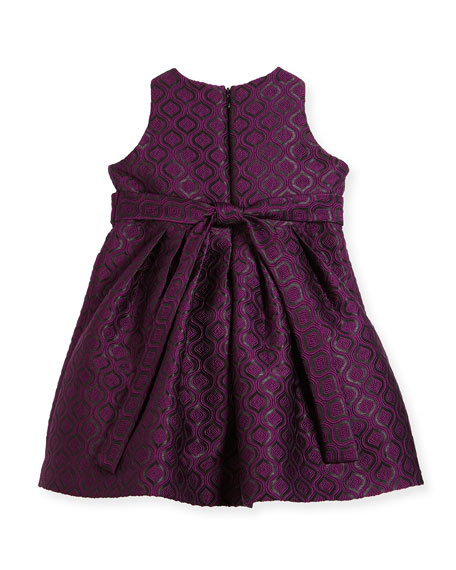Geo Jacquard Dress, Size 2-6