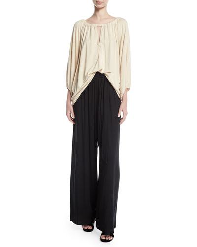 Gibson Wide-Leg Drama Pants, Plus Size  and Matching Items