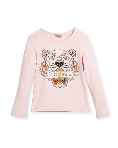 Long-Sleeve Tiger T-Shirt, Size 4-6 and Matching Items