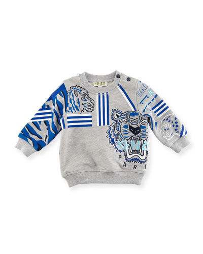 Tiger Embroidered Sweater, Size 2-3 and Matching Items