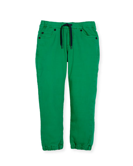 Drawstring-Waist Jeans, Size 4-6