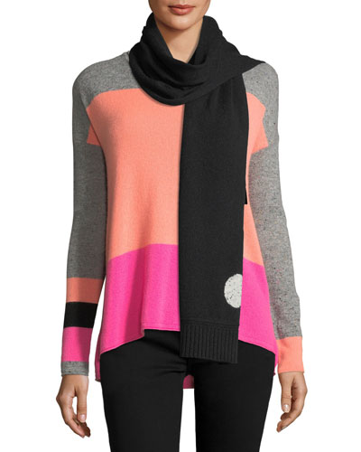 Hot Spots Cashmere Scarf  and Matching Items