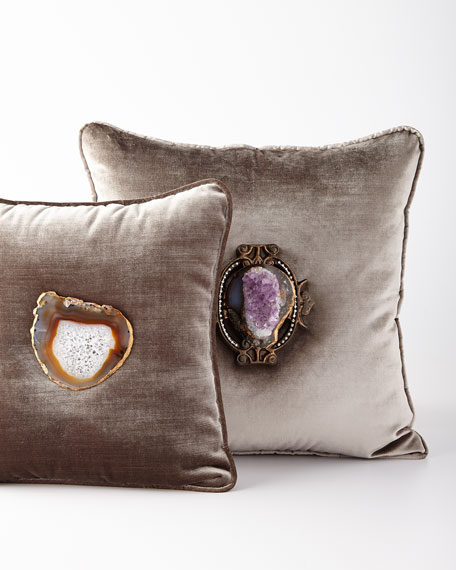 Joule Palermo Amethyst Pillow