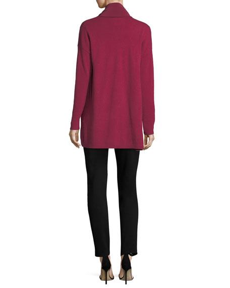 3/4-Sleeve Silk Satin Blouse