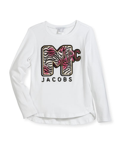 MTV Logo Long-Sleeve T-Shirt, Size 6-10 and Matching Items