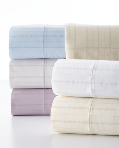 King Classic Stripe 310 Thread Count Sheet Set and Ma Thread Counthing Items