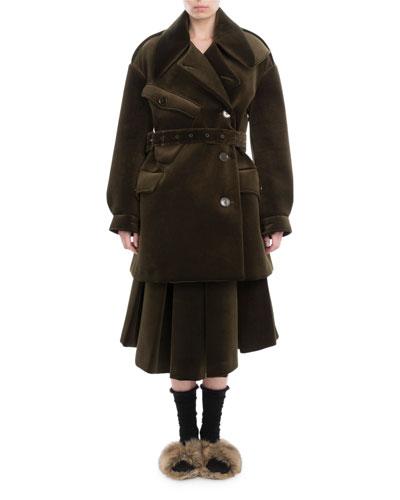 Neoprene Military Pea Coat and Matching Items