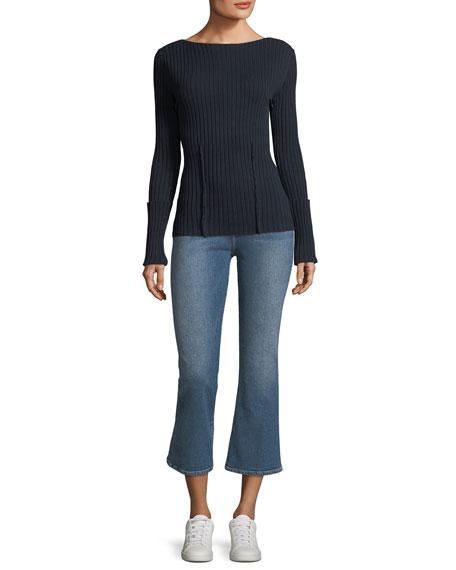 Le Crop Mini Boot Mid-Rise Jeans