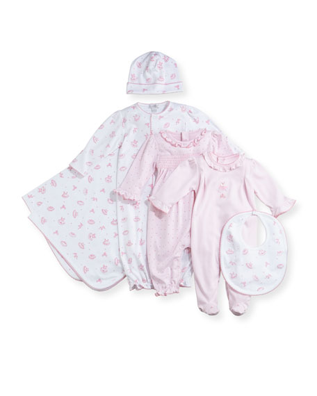Tiny Tutus Printed Pima Convertible Sleep Gown, Size Newborn-Small