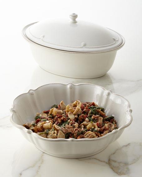 Berry & Thread Whitewash Covered Casserole Dish
