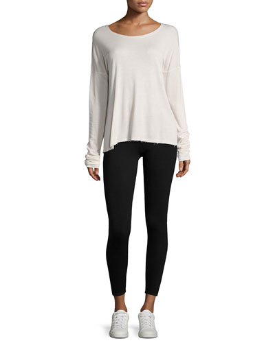 Cashmere-Blend Leggings and Matching Items