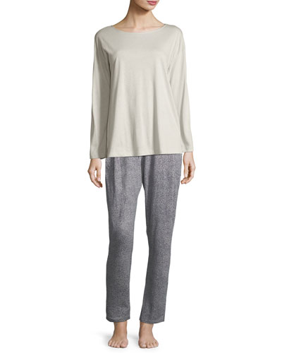 Sleep & Lounge Long-Sleeve Top and Matching Items
