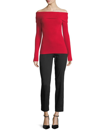 Miranda Slim-Leg Cropped Pants and Matching Items