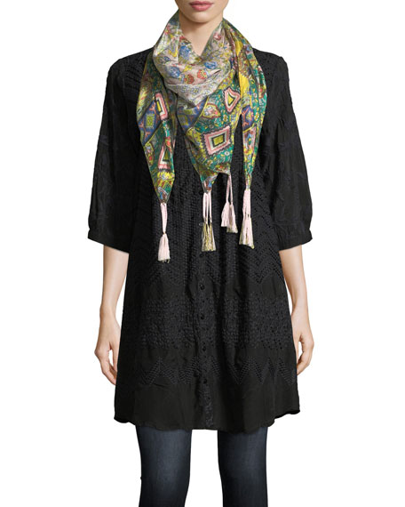 Indiano Silk Georgette Scarf
