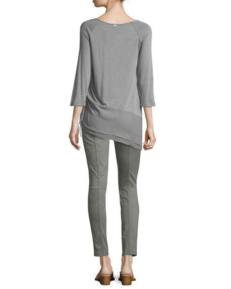 Bardot Double-Stretch Slim-Leg Jeans