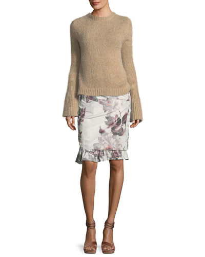 Kaelie Cashmere Bell-Sleeve Sweater and Matching Items