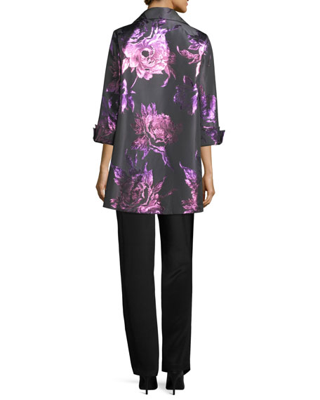 Twilight Blooms Party Jacket, Petite