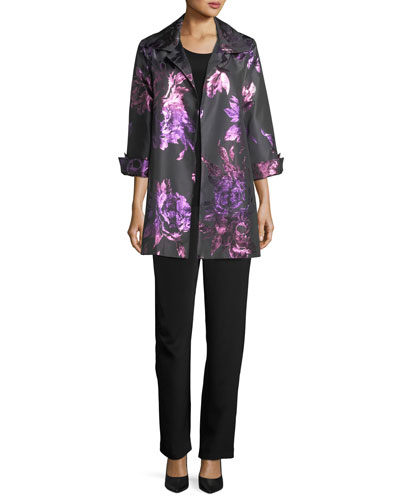 Twilight Blooms Party Jacket, Petite and Matching Items