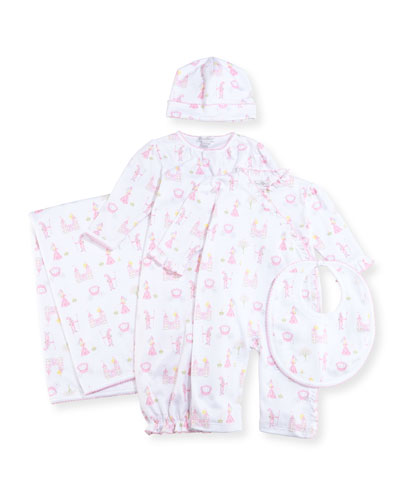 Enchanted Princess Pima Coverall, Size 9-24 Months  and Matching Items