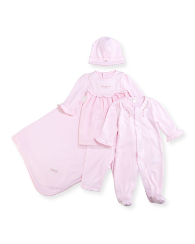 Belle Fleur Pima Baby Hat and Matching Items