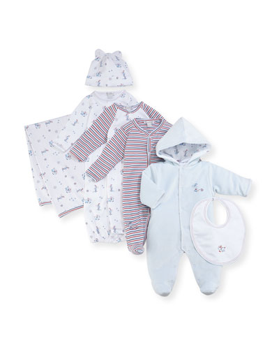 Pup Paw-trol Printed Coverall, Size 3-24 Months  and Matching Items