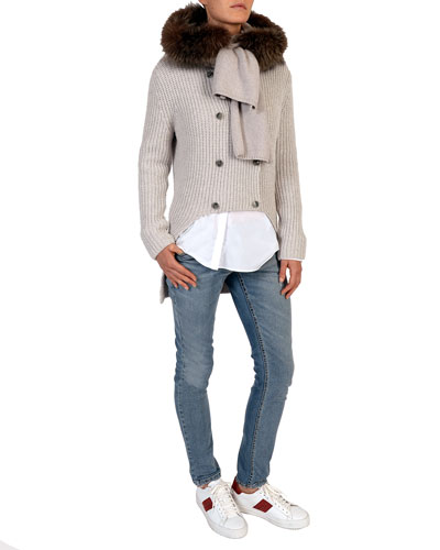 Mid-Rise Slim-Leg Jeans and Matching Items